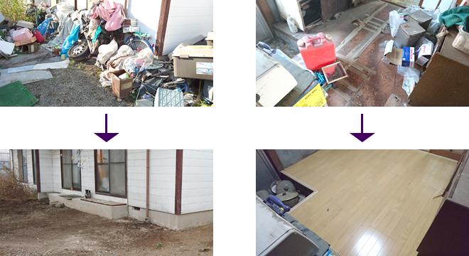 台所ゴミ整理+リフォーム