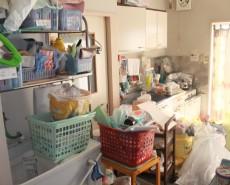 整理前の台所まわり